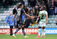 Yeovil Town v Colchester United, Yeovil, UK - 30 Sept 2017