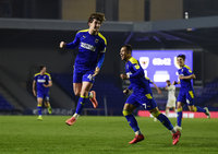 AFC Wimbledon v Oxford United, London, UK - 20 April 2021