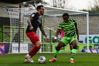 Forest Green Rovers v Exeter City, Nailsworth,  UK - 20 Apr 2021