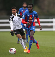 Crystal Palace U23s v Fulham U23s, Beckenham - 18th January 2021
