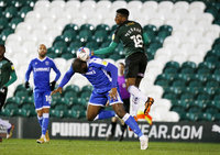 Plymouth Argyle v Gillingham, Plymouth, UK - 2 Jan 2021