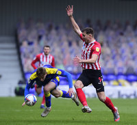 AFC Wimbledon v Sunderland, London, UK - 16 Jan 2021