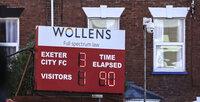 Exeter City v Stevenage, Exeter, UK - 23 Jan 2021