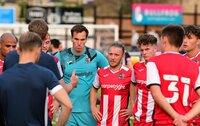 Bath City v Exeter City, Bath, UK - 16 Jul 2021