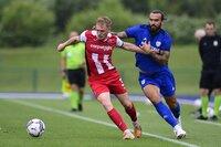 Cardiff City v Exeter City, Cardiff, UK - 24 Jul 2021