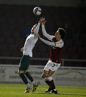 Northampton Town v Plymouth Argyle, Northampton, UK - 2 Mar 2021
