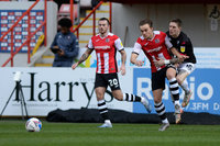 Exeter City vs Salford City, Exeter, UK - 27 March 2021