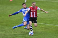 Exeter City v Barrow, Exeter,  UK - 8 May 2021