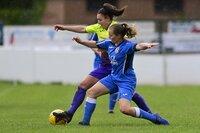 Exeter City Women v Cardiff City Ladies, Cullompton, UK - 16 May 2021