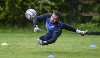 Torquay United training,Seale Hayne, UK - 20 May 2021