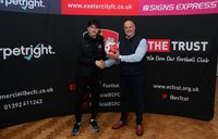 Exeter City v Walsall, Exeter, UK - 2 Oct 2021