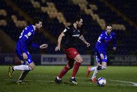Colchester United v Exeter City, London, UK - 23 Feb 2021
