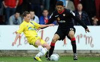Torquay United v Crewe  280412