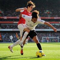 Arsenal v Spurs  260212