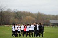 England C Training 270212