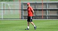 Bayern v Chelsea training   180512