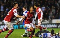 Reading v Arsenal 301012