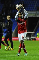 Reading v Arsenal 301012