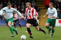 EXETER CITY v FOREST GREEN, Exeter, UK 29 Jan 2005