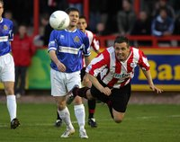 EXETER CITY V HALIFAX, Exeter, UK 5 Apr 2005