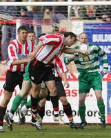 Exeter City v Northwich Victoria, Exeter, UK 9 Apr 2005