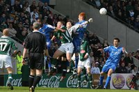 PLYMOUTH ARGYLE V CARDIFF CITY, PLymouth, UK 2 Apr 2005