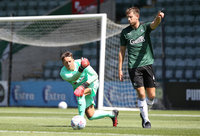 Plymouth Argyle v Plymouth Parkway, Plymouth, UK - 8 AUG 2020