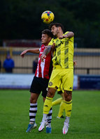 Tiverton Town v Exeter City, Tiverton, UK - 25 Aug 2020