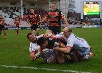 Gloucester Rugby v Ulster Rugby, Gloucester, UK - 20 Dec 2020