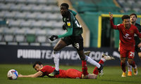 Plymouth Argyle v MK Dons, Plymouth, UK - 19 Dec 2020