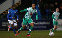 Macclesfield Town v Plymouth Argyle, Macclesfield, UK - 18 Feb 2