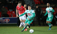 Salford City v Plymouth Argyle 11 Feb 2020