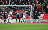 Stoke City v Charlton Athletic, Stoke, UK - 8 Feb 2020