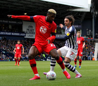 West Bromwich Albion v Wigan Athletic, Birmingham, UK - 29 Feb 2020