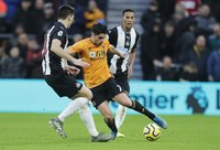 Wolves  v Newcastle, Wolverhampton, UK - 11 Jan 2020