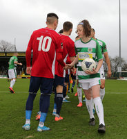 Yeovil Town v Hampton & Richmond Borough FC, Yeovil, UK - 11 Jan 2020