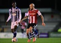 Exeter City v West Bromwich Albion u21s, Exeter, UK - 7 Nov 2020