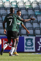 Plymouth Argyle v Burton Albion, Plymouth, UK - 10 Oct 2020