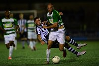 Dorchester Town v Yeovil Town, Taunton, UK -15 Sep 2020