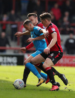 Morecambe v Barnet, Morecambe, UK - 28 Apr 2018