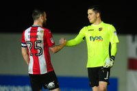Exeter City v Chesterfield Town, Exeter, UK - 17 Apr 2018