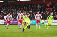 Stevenage v Exeter City, Stevenage, UK - 28 Apr 2018