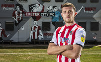 Exeter City player signing, Exeter, UK - 7 Aug 2018