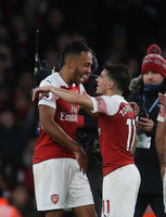 Arsenal v Tottenham Hotspur, London - 02 December 2018