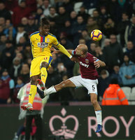 West Ham United  v Crystal Palace, London - 08 December 2018