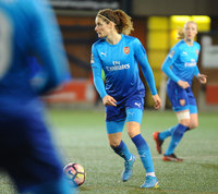 Liverpool Ladies FC v Arsenal Women FC, Widnes, UK - 7th Feb 2018