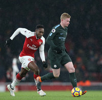 Arsenal v Manchester City, London, UK - 01 March 2018