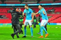 Arsenal v Manchester City, London, UK - 25 Feb 2018