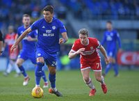 Cardiff City v Middlesbrough, Cardiff, UK - 17 Feb 2018