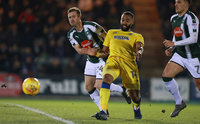 Plymouth Argyle v AFC Wimbledon, Plymouth, UK - 13 Feb 2018